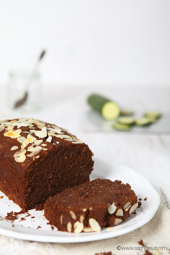 zucchini chocolate almond cake