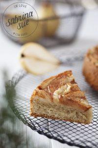 Vegane Birnen-Cashew Tarte