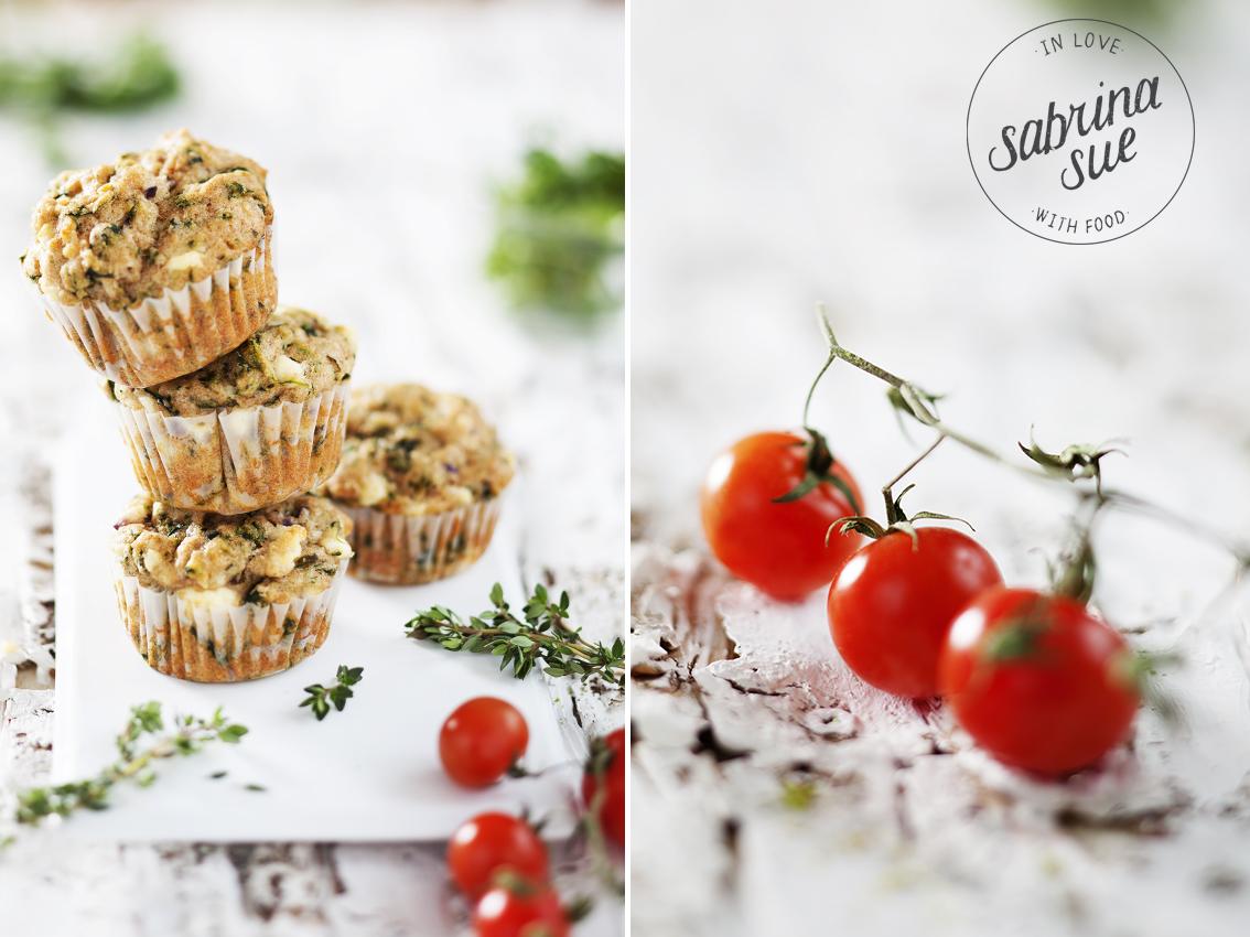 Breakfast Schafskaese Spinat Muffins