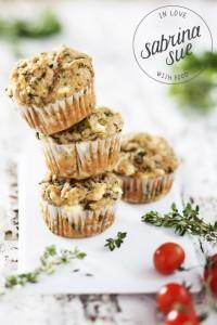 Schafskaese-Spinat-Muffins