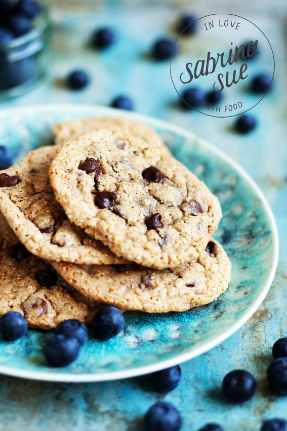 Amaranth Chocolate Chip Cookies