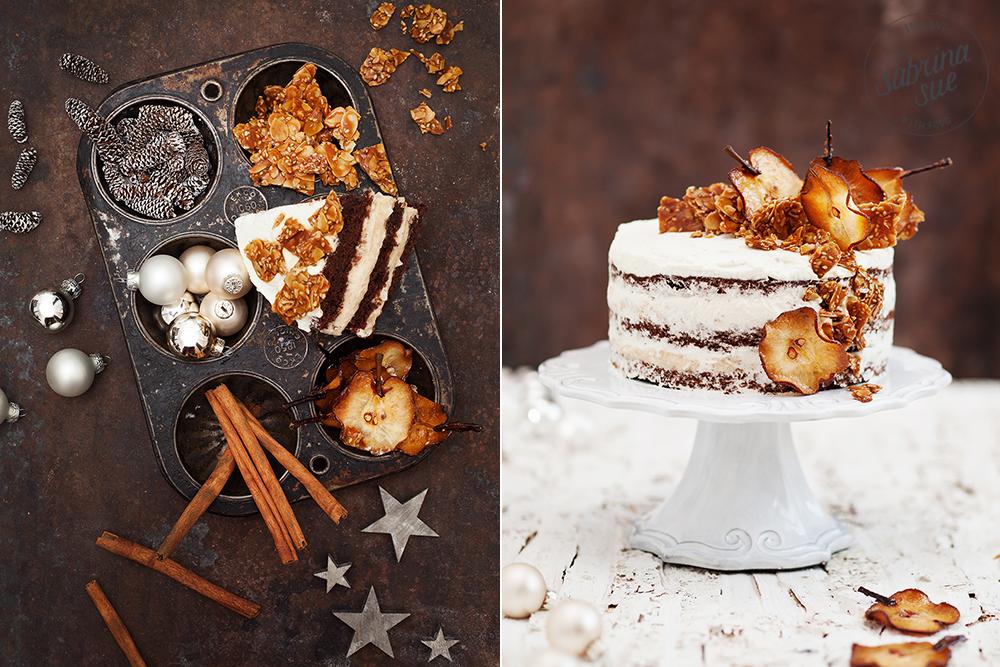 Birnen Kokos Torte