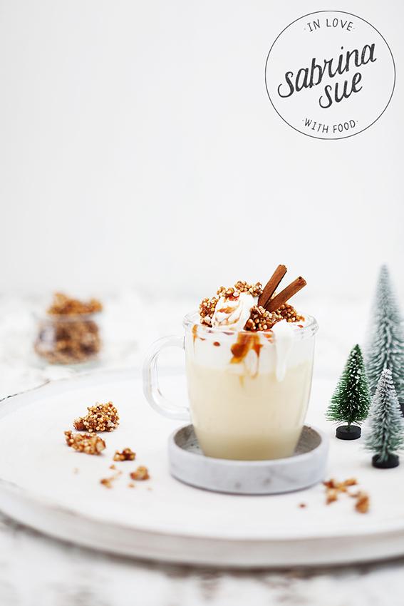 Hot White Chai Chocolate & Quinoa Cluster
