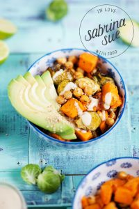 Roasted Chickpea Buddha Bowl