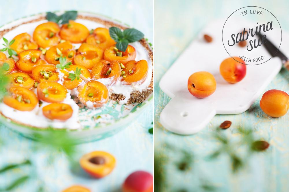 Aprikosen Quinoa Tart