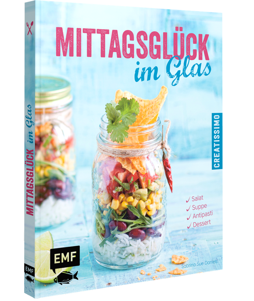 Mittagsglück im Glas