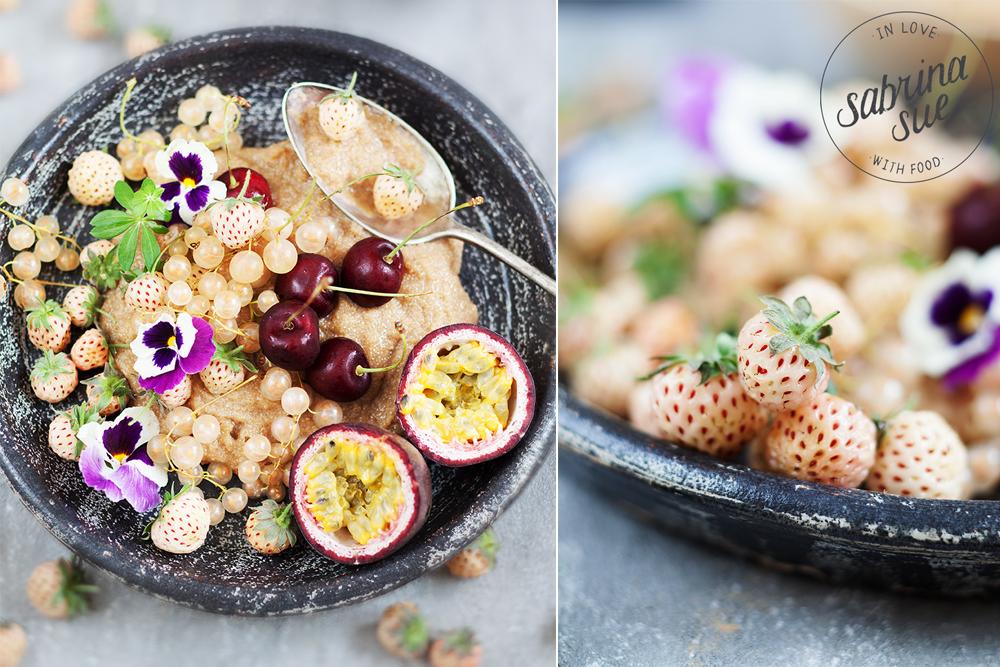 Amaranth Porridge & Ananaserdbeeren
