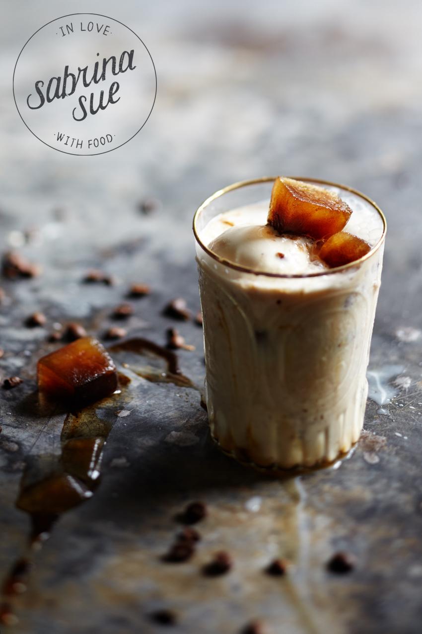 Espresso Caramel Milkshake