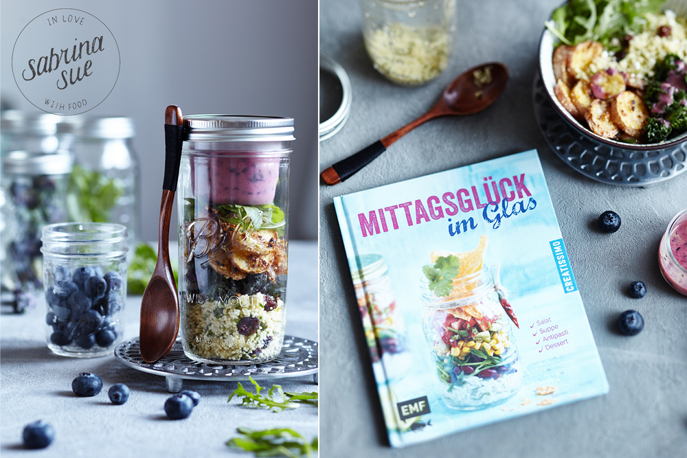 Mittagsglück im Glas - fruchtiger Wintersalat
