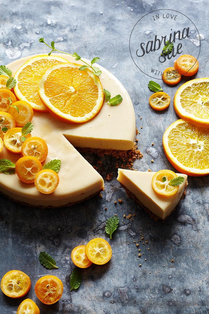 Orangen-Karamell Tarte