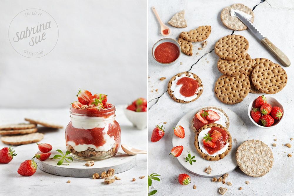 Rhabarber-Ingwer-Skyr-Trifle