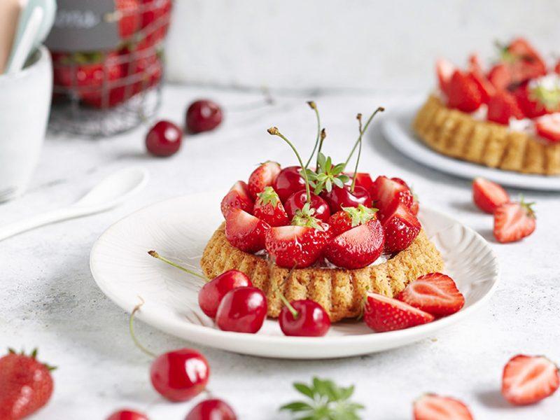Erdbeer-Kirsch Tartelettes