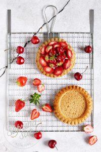 Erdbeer-Kirsch Tartelettes {laktosefrei}