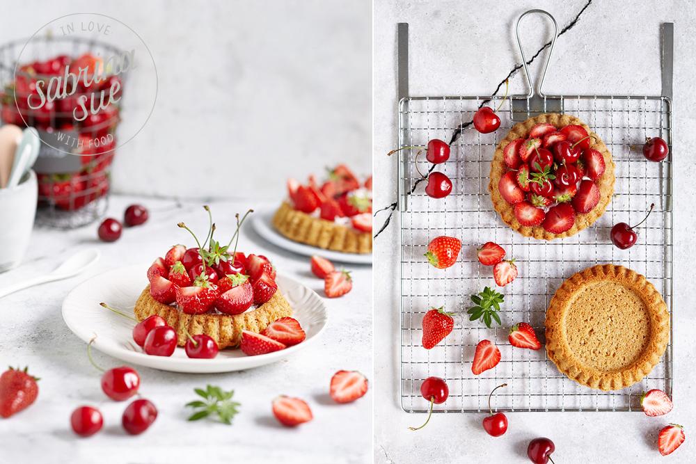 Erdbeer Kirsch Tartelettes