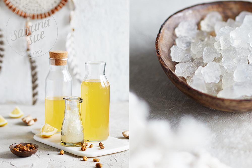 Maulbeer Wasserkefir Limonade