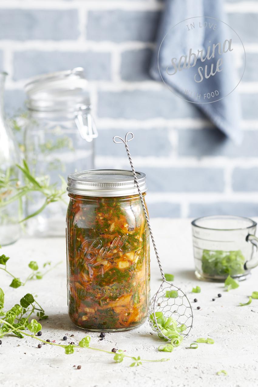 Mangold Kimchi