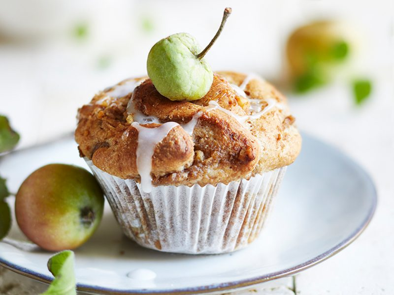 Apple-walnut-pull-apart-muffins