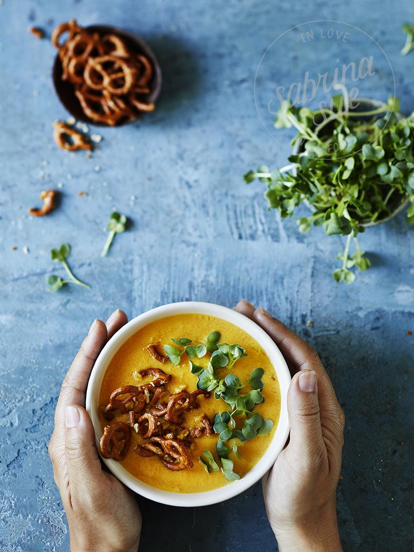 Kichererbsen Möhren Suppe-Nur für mich!