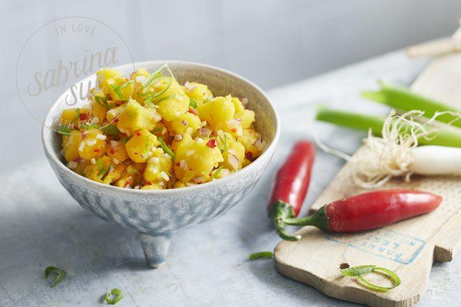 Balinesischer Kürbis Salat