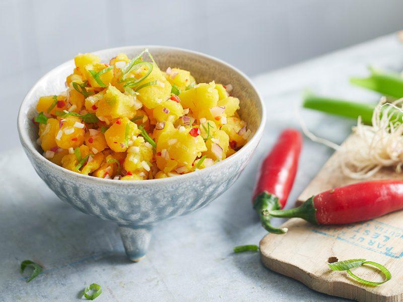 Balinesischer-Patidou Kürbis Salat