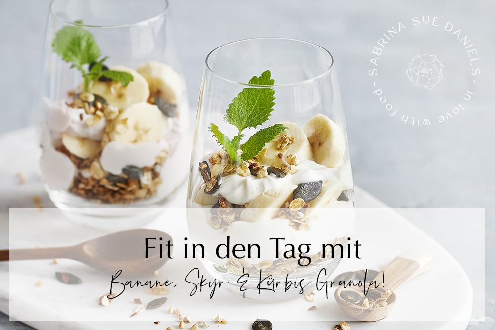 Bananen-Skyr-Trifle