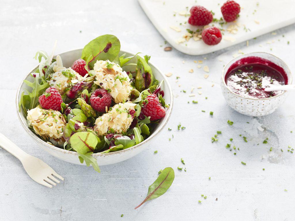 Himbeer-Salat