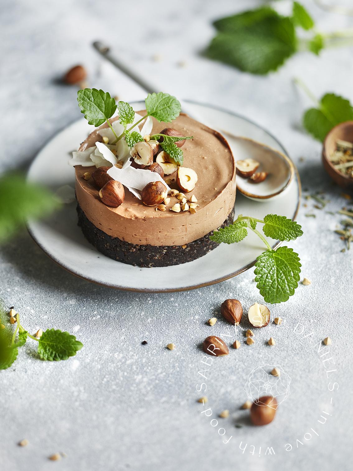 Schokoladen-Kokos Cheesecake Törtchen
