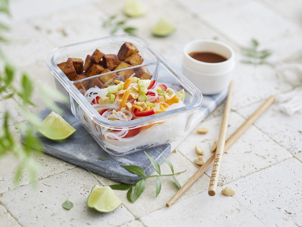 Asia-Nudelsalat Box