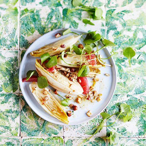 Grüne Küche_Geschmorter Chicoree