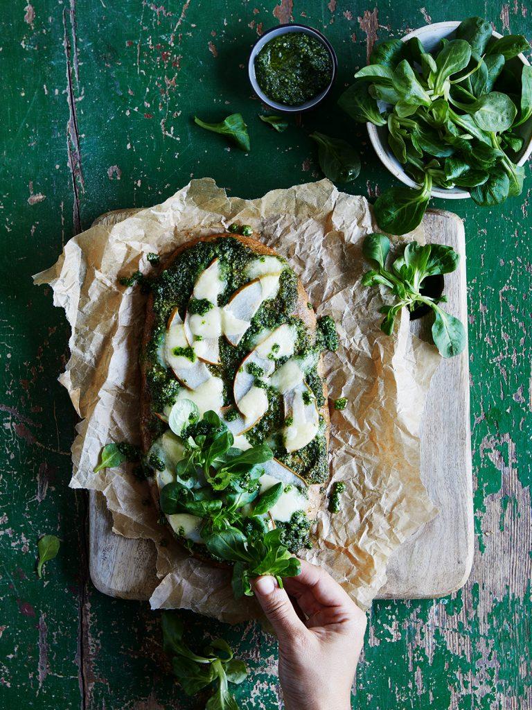 Grüne Küche_Grünkohlpizza