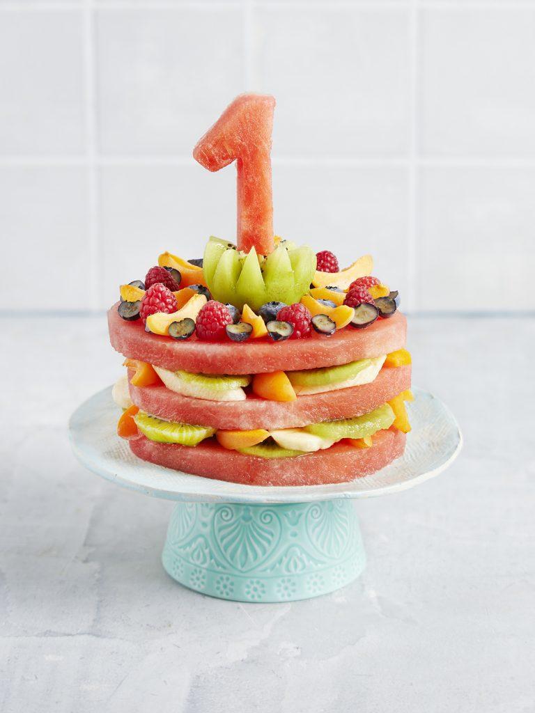 Melonen-Torte zum 1. Geburtstag