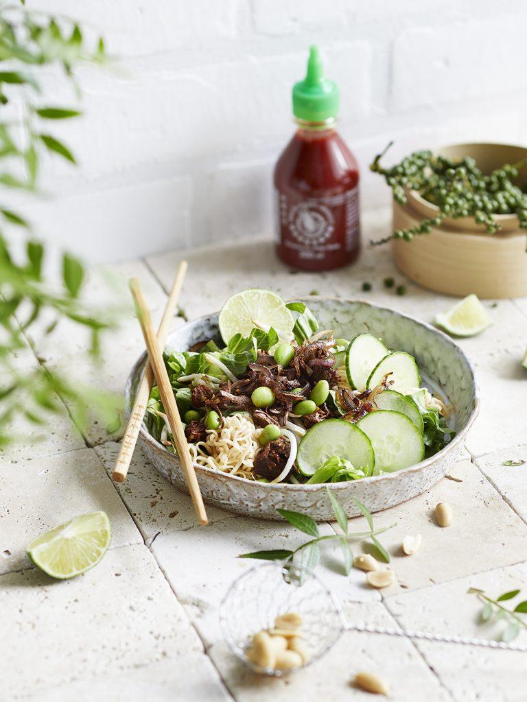 Vietnamesischer Jackfruitsalat