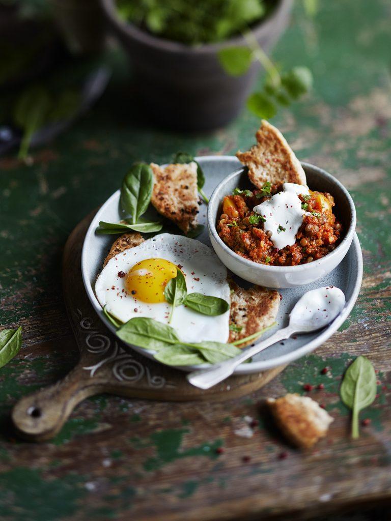 Foodfotografie für Karotten-Linsen Das