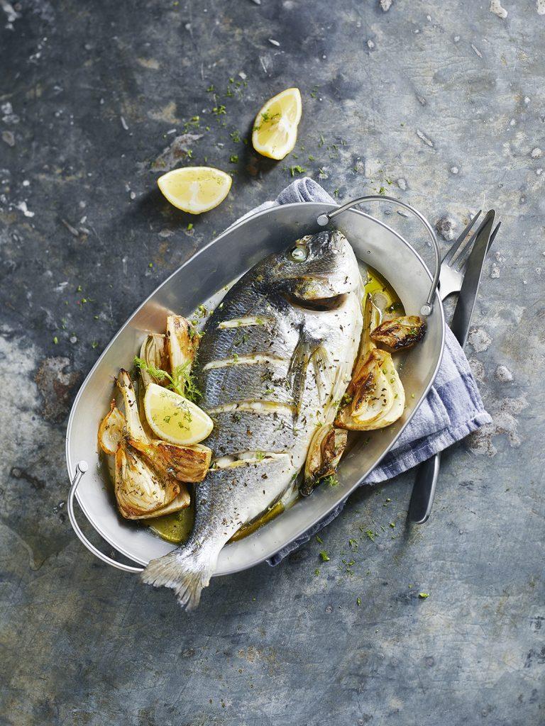 Foodstyling Ofenfisch mit Fenchel