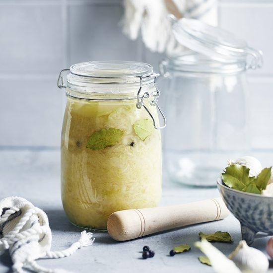 Rezeptentwicklung für fermentiertes Gemüse