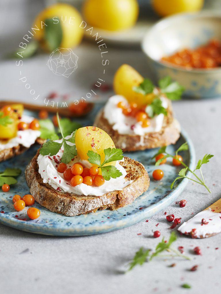 Pflanzlicher Kaviar aus Karottensaft vegan_Molekularküche