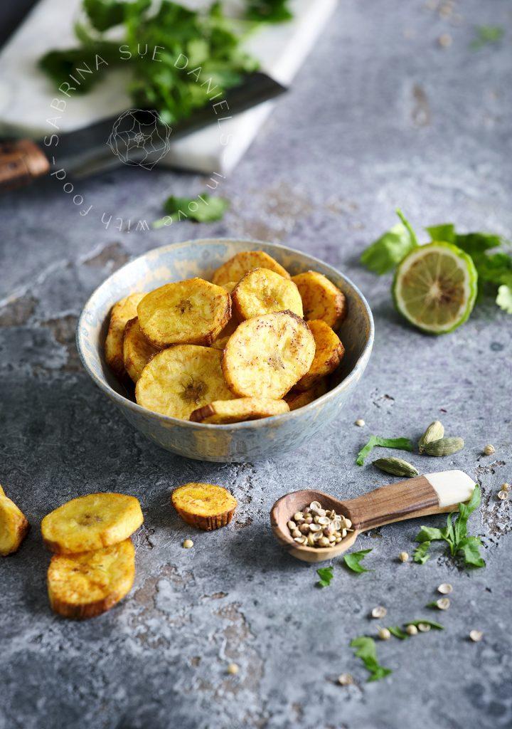 Bananen Chips mit Paprika
